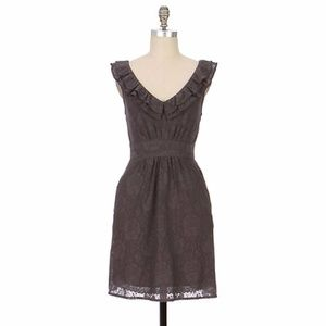 Anthropologie Dusky Needlework Dress